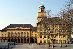 Witten - Town hall in Witten