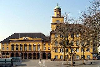 Witten Place in North Rhine-Westphalia, Germany