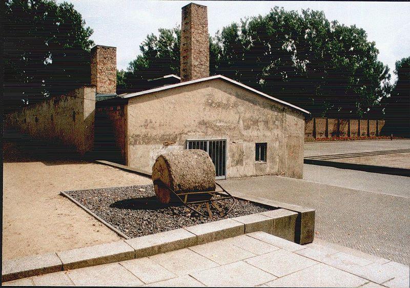 Crematorium and road roller.