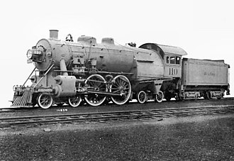 4-4-4 - Reading No. 110 in its official portrait