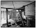 Rear wing, looking north from southwest space - 3600 Old Lost Mountain Road (House), Powder Springs, Cobb County, GA HABS GA,34-POWSP.V,1-18.tif