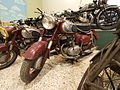 Red Puch motorcycle at the Ford museum.JPG