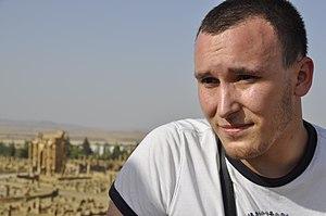 Reda Kerbouche in Timgad