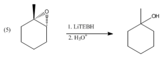 Lithium triethylborohydride - Image: Reduction of epoxide