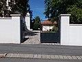 Reformed church, Lórántffy Street gate, 2020 Sárospatak.jpg