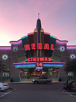 Regal Entertainment Group - The Regal Cinemas 14 in Short Pump, Virginia.