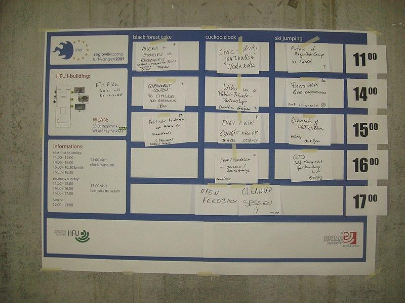 Datei:Regiowikicamp 2009.JPG