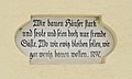 Religious inscription 1797, Fresach.jpg