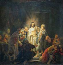 Jésus ressuscité devant Thomas