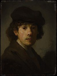 Rembrandt as a young man, portrait (New York).jpg