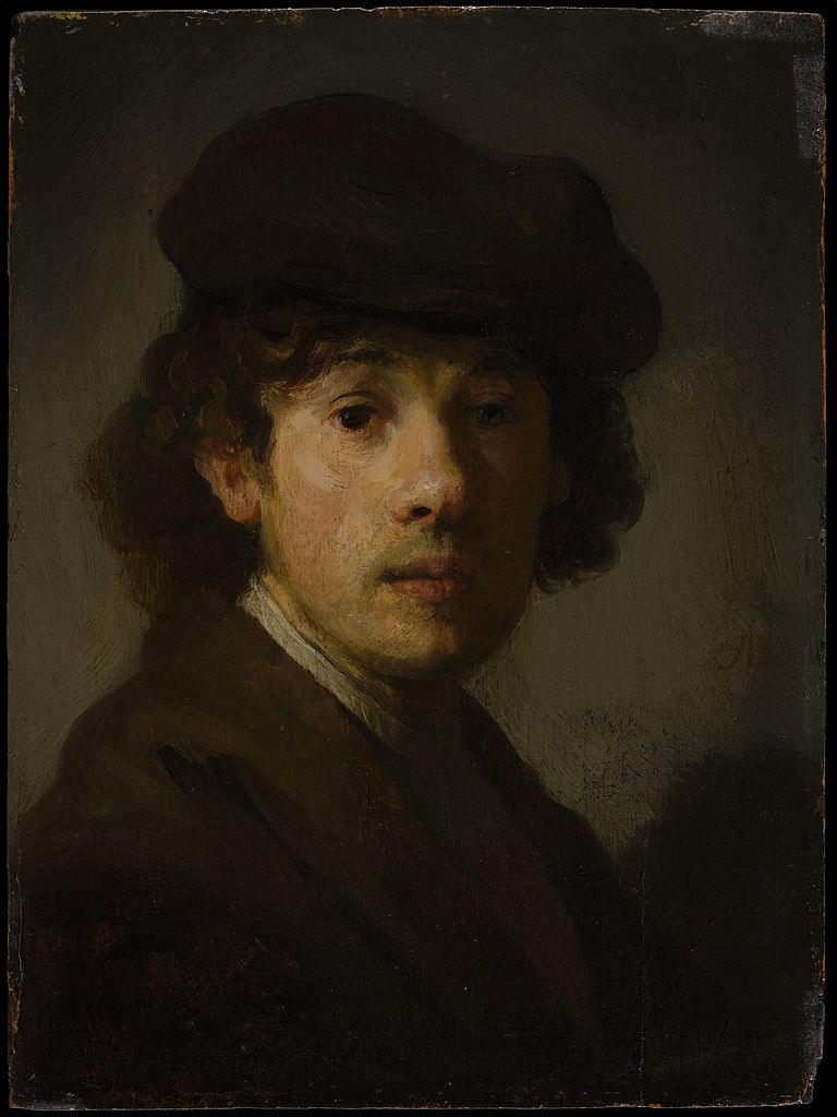 A Young Teen Girl With Long Curly Blond Hair Is Outside: File:Rembrandt As A Young Man, Portrait (New York).jpg