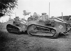 Renault FT - Captured FT tanks in German service in Serbia (World War II).