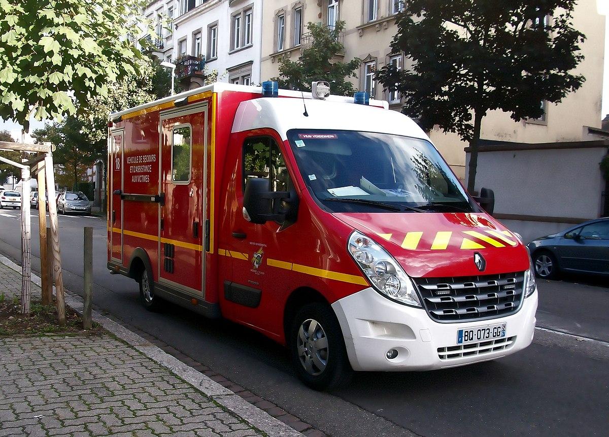 V hicule de secours et d 39 aide aux victimes wikip dia - Image camion pompier ...