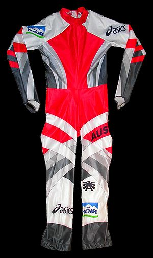 Downhill (ski competition) - Austrian Downhill racing suit