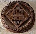 Reproducció de l'escut d'Alacant existent a l'església de santa Maria, castell de santa Bàrbara.JPG