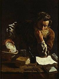 Retrato de un erudito (¿Arquímedes?), por Domenico Fetti.jpg