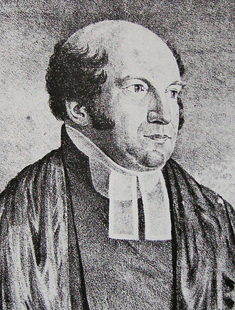 St James' Church, Sydney - The Revd Richard Hill, first chaplain