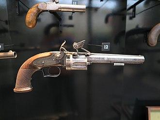 Elisha Collier - Image: Revolver, flintlock (AM 776085 16)
