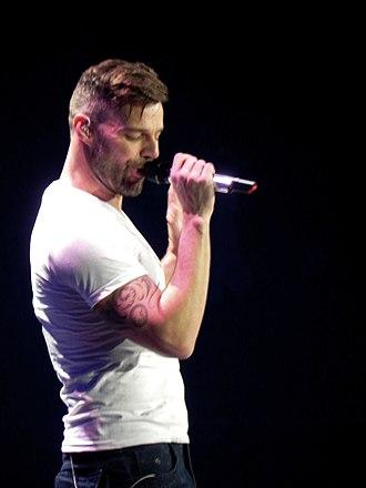 La Isla Bonita - Ricky Martin's version for Glee cast charted on the Billboard Hot 100.
