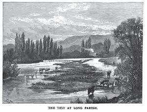 River Test - Image: River Test Circa 1891
