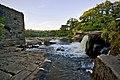 River Swale falls, Richmond (N Yorks) - geograph.org.uk - 2530295.jpg