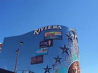 Riviera (hotel and casino) - Image: Riveria Facade