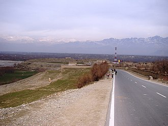 Parwan Province - Image: Road in Parwan 11