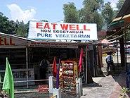 Roadside restaurant, Kullu, 2004