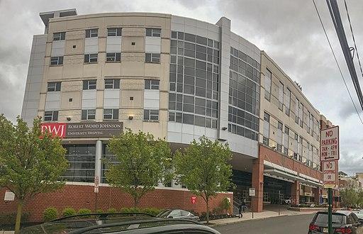 Robert Wood Johnson University Hospital main building