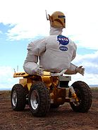 Robonaut 1 attached to Centaur 1