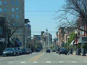 Rockford, Illinois - Downtown East State Street corridor