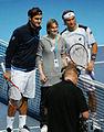 Roger Federer & David Ferrer (8168182686).jpg