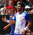 Roland Garros 20140531 Alize Cornet & Jonathan Eysseric 3.jpg