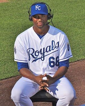 Román Colón - Colón with the Kansas City Royals