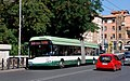 Rome ATAC Solaris trolleybus 8505 near Piazza Sempione in 2007.jpg