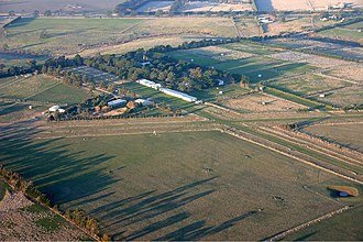 Romsey, Victoria - Image: Romsey Airfield overview Vabre