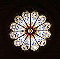 Rose window of the church Saint Mary above Minerva 2.jpg