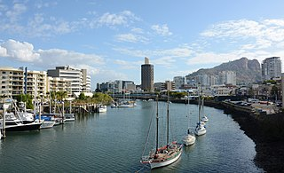Townsville City in Queensland, Australia