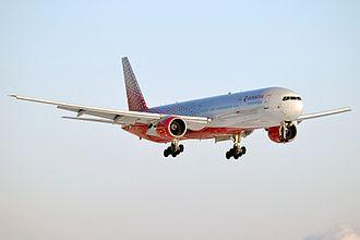 Aeroflot - Image: Rossiya, EI UNN, Boeing 777 312 (32182478212)