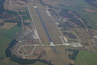Rostock–Laage Airport - Aerial view