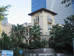 Rothschild Boulevard - Russian Embassy.JPG