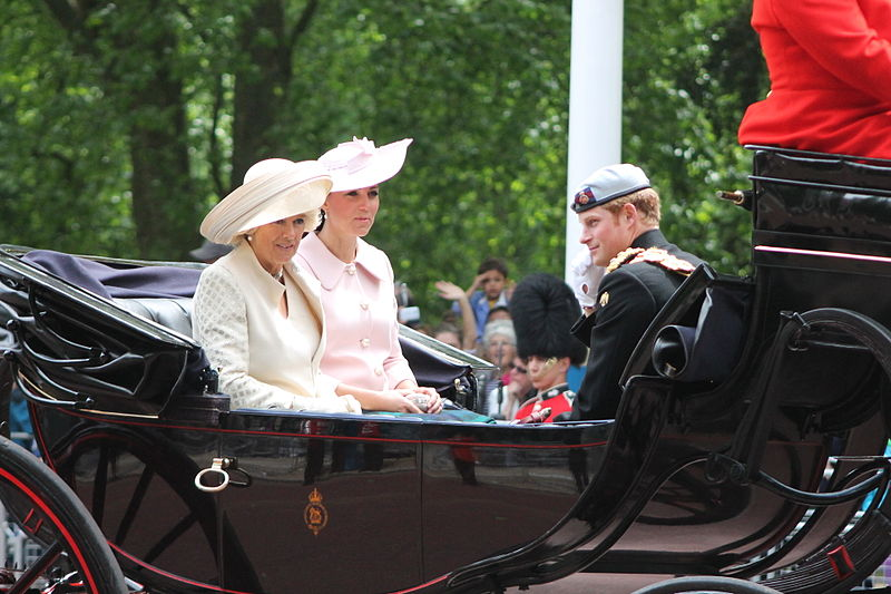 Royal carriage, Trooping the Colour.JPG