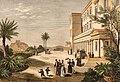 Royal palace and gardens, Athens 1877.jpg