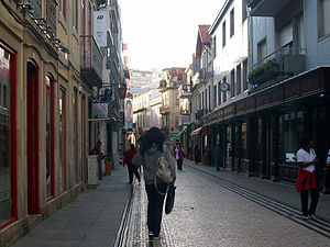 Rua da Junqueira - Near Ouriveraria Gomes goldsmithery, suppliers of the Portuguese Royal family.