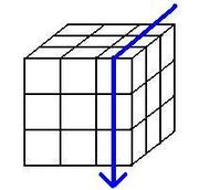 Rubik's cube notation for 1 layer - R'.jpg