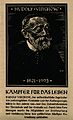 Rudolf Ludwig Karl Virchow. Reproduction of a woodcut by (O. Wellcome V0006070.jpg