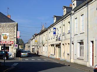 Gennes, Maine-et-Loire - Image: Rue République Gennes