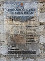 Ruoms - Fortifications - Plaque parcours culturel.jpg