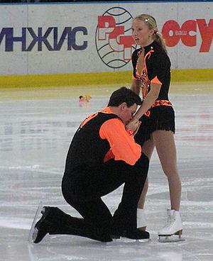 Maxim Marinin - Totmianina and Marinin in January 2005