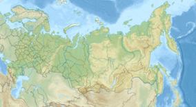 Mappa che mostra la posizione della Riserva Naturale Altai